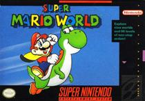 Photo de la boite de Super Mario World